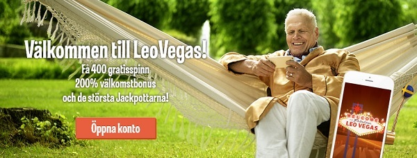 LeoVegas mobilcasino