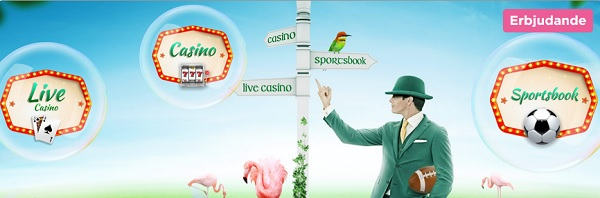 Mr Green casinobonus