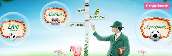 Mr Green casinobonus